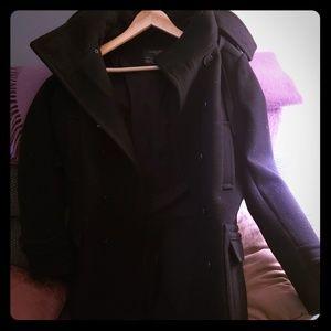 All saints Spitalfields wool  coat